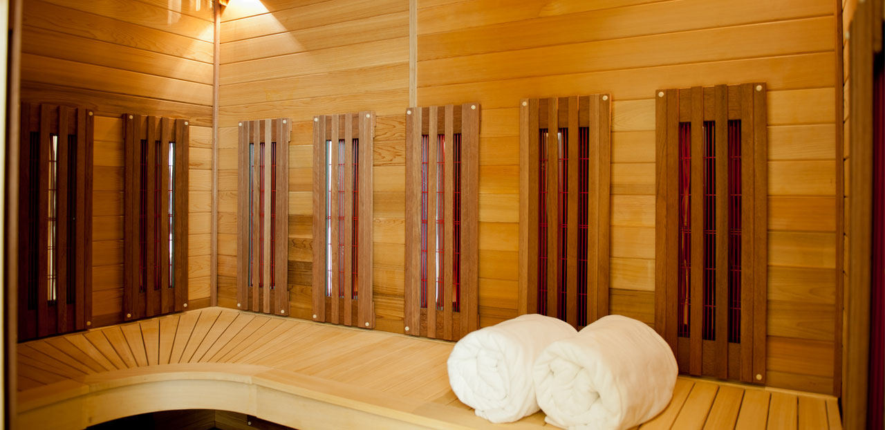 sauna et hammam. Black Bedroom Furniture Sets. Home Design Ideas